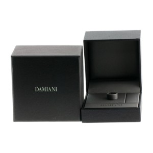 Damiani 18K White Gold Ring