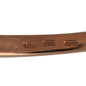 Roberto Coin Classica Parisienne 18K Rose Gold Diamond Bracelet