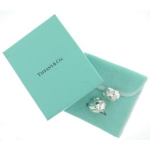 Tiffany & Co. Large Cable Rope Weave Knot Stud Earrings