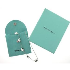 Tiffany & Co. Silver Elsa Peretti Bean Necklace