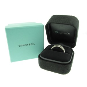 Tiffany & Co. Platinum and Diamond Band