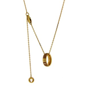 Damiani Metropolitan Dream 18K Rose Gold with 0.01ct Diamonds Necklace