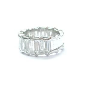 Platinum Diamond Band Ring