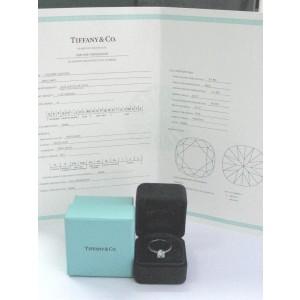 Tiffany & Co. Platinum Novo Diamond Engagement Ring