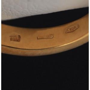 Bulgari Diamond Bypass 18k Yellow Gold Ring