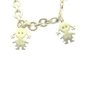 Schrieber 18Kt Lily & Chloe Diamond Yellow Gold Charm Bracelet