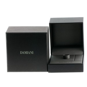 Damiani 18K White Gold Orbital Diamond Ring