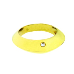 Piaget 18K Yellow Gold Diamond Dome Ring