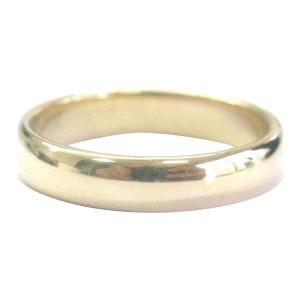 Tiffany & Co. 18K Yellow Gold Lucida Band Ring Size 10