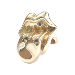 Chrome Hearts 22K Yellow Gold Ring Size 13