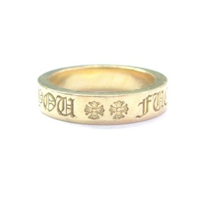 Chrome Hearts 22K Yellow Gold Ring