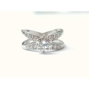 Tiffany & Co. Platinum & Diamond Solitaire Engagement Ring