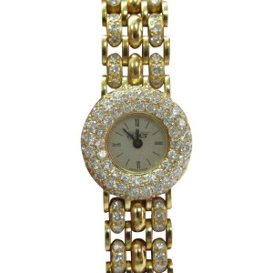 Alan Adler 18Kt Women's Yellow Gold 6.00CT Diamond Quartz Watch