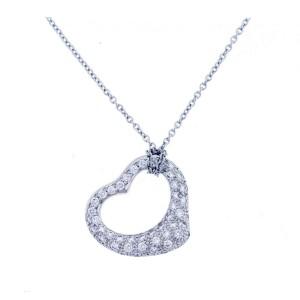 Tiffany & Co. Diamond Heart Pendant by Elsa Peretti