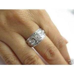 14K White Gold & 1.89ct Diamond Engagement Ring