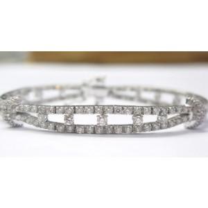 Platinum PT950 Diamond Bracelet