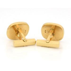 Tiffany & Co. 14K Yellow Gol Tiger & Star Cufflinks