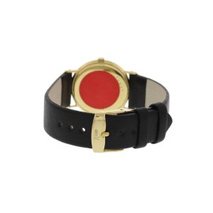 Audemars Piguet Gubelin 16292 18K Yellow Gold & Leather Manual 28mm Unisex Watch