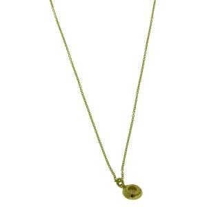 Ippolita 18K Yellow Gold with Diamond & Mother of Pearl Mini Lollipop Pendant Necklace