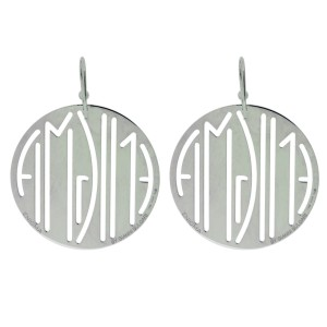 Bulgari Enigma By Bulgari Sterling Silver Earrings
