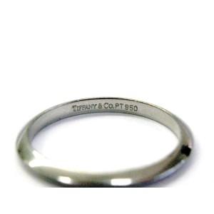 Tiffany & Co Platinum Wedding Band Ring Size 6.25