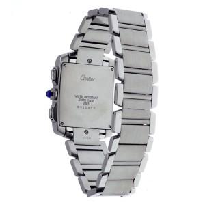 Cartier Tank Francaise 2303 20mm Mens Watch