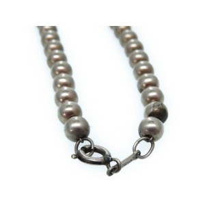 Tiffany & Co. Sterling Silver Pearl Motif Necklace