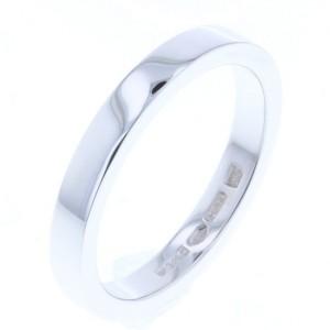 Bulgari PT950 Platinum Marry Me Wedding Ring Size 7.5