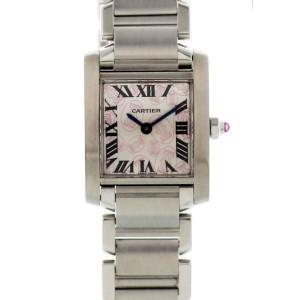 Cartier Tank Francaise 2384 / W51031Q3 20mm Womens Watch