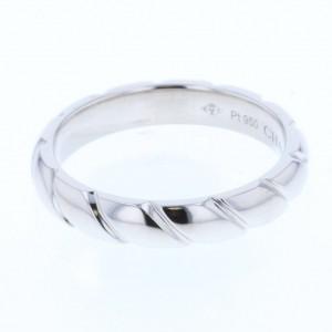 Chaumet Torsard PT950 Platinum Ring Size 6.25