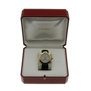 Cartier Pasha 2111 38mm Mens Watch