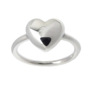 Tiffany & Co. 925 Sterling Silver Heart Ring