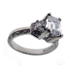Tacori Platinum Diamond Engagement Ring