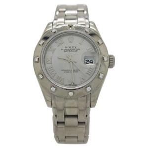 Rolex Datejust Pearlmaster 80318 29mm Womens Watch