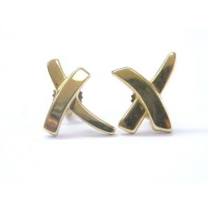 Tiffany & Co. Palomas Graffiti 18K Yellow Gold Earrings