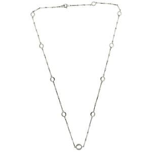 Chimento 18K White Gold Diamond Necklace