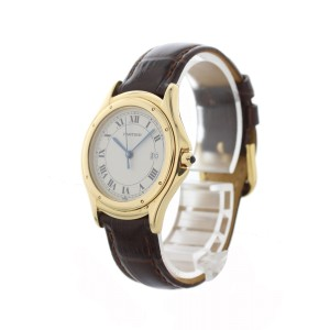 Cartier Cougar 116000R 32mm Womens Watch