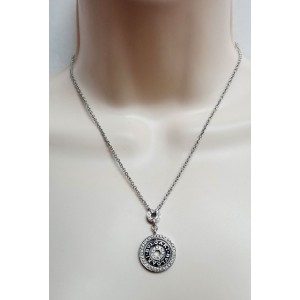 Bvlgari Bulgari 18K White Gold Diamond Necklace