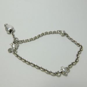 Tiffany & Co. 925 Sterling Silver Heart Bracelet