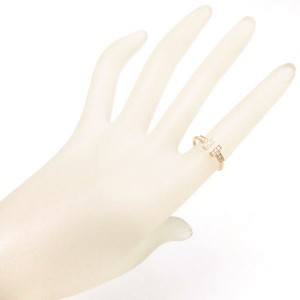 Tiffany & Co. 18K Rose Gold with Diamond Ring Size 9