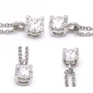 Tiffany & Co. Platinum with Diamond Pendant Necklace