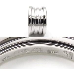 Bulgari B-Zero 1 18K White Gold 4 Band Ring Size 5.5
