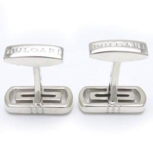 Bulgari Parentesi 925 Sterling Silver Cufflinks