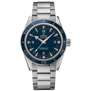 Omega 233.90.41.21.03.001  Seamaster 300 Automatic Blue Dial Titanium 41mm Watch