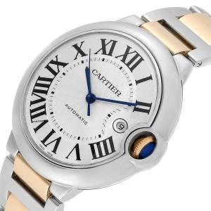 Cartier Ballon Bleu Steel Yellow Gold Watch