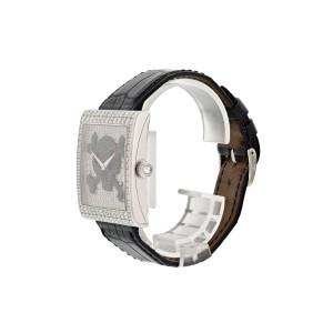 Corum Buckingham Pirate 024.201.69 18k White Gold Diamond Watch