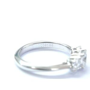 Tiffany & Co Platinum 3-Stone Diamond Engagement Ring 1.03CT E/VVS2-VS1