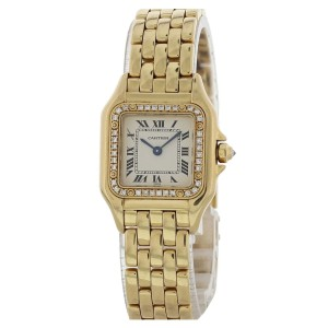 Cartier Panthere 1280 18K Ladies Diamonds Watch