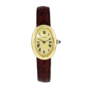 Cartier Baignoire 7743 Yellow Gold Watch