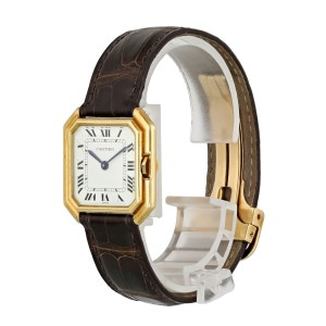 Cartier Paris 18k Yellow Gold Vintage Ladies Watch